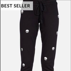 New with tags. Lauren Moshi skull joggers